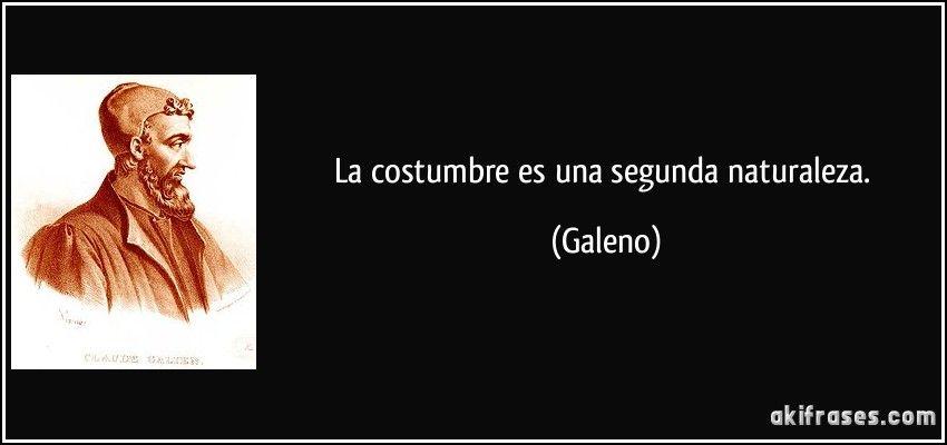 Frase de Galeno | Medicina | Pinterest | Galeno, Medicina y Frases