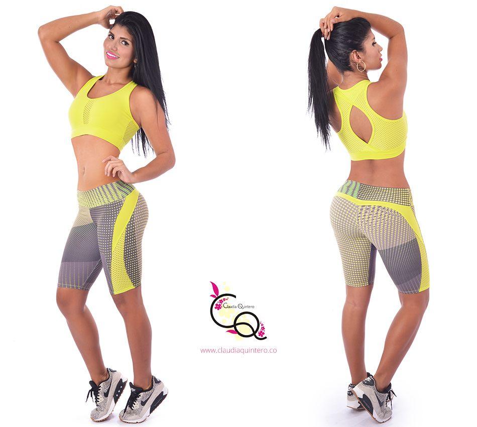 f5d489a05f7b8 Conjunto Deportivo Ref. 641 Claudia Quintero Ropa Deportiva Para Mujer