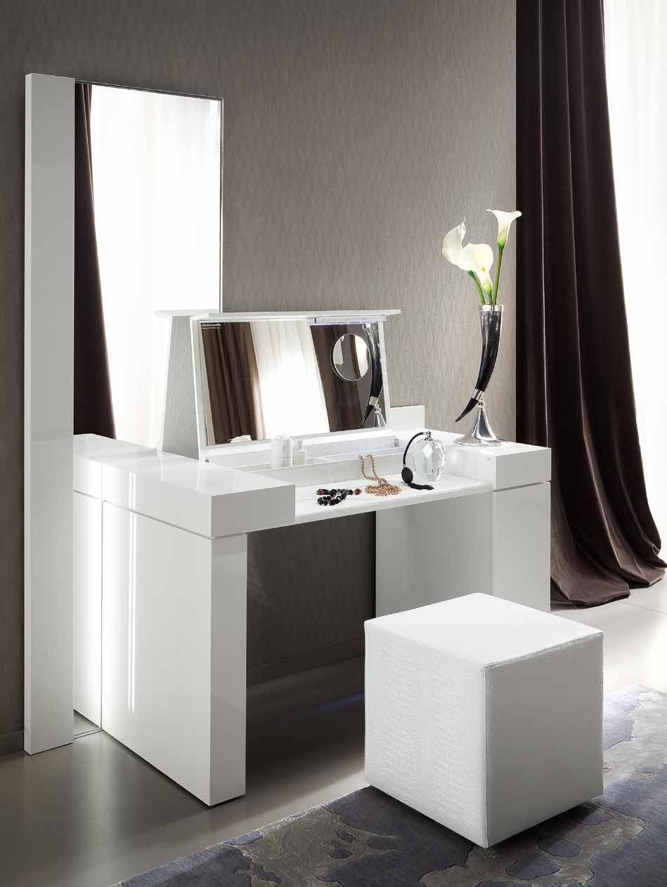 domino consolle da trucco | Interior l Decor | Modern white dressing ...