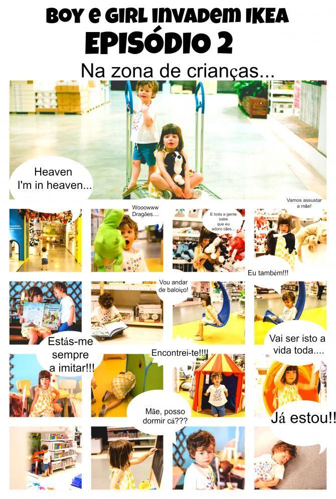 Boy e Girl invadem a IKEA | Episódio I