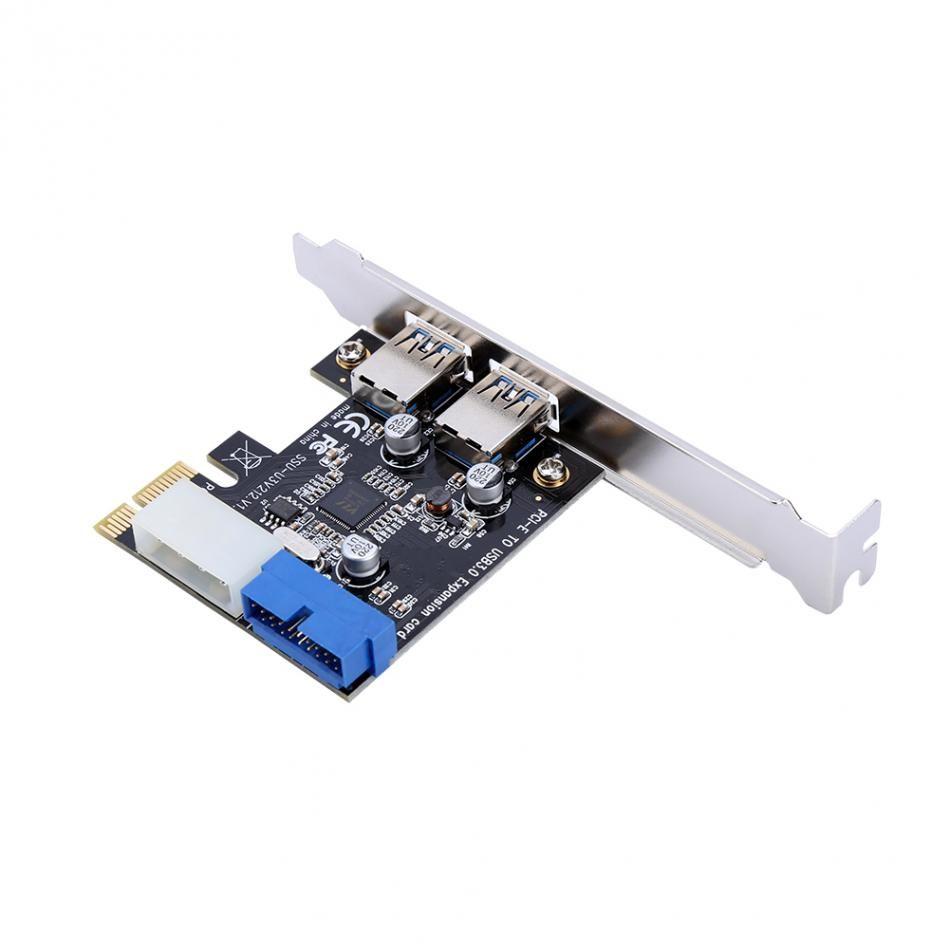 Nieuwe Usb 3 0 Pci Uitbreidingskaart Adapter Externe 2 Port Usb3 0