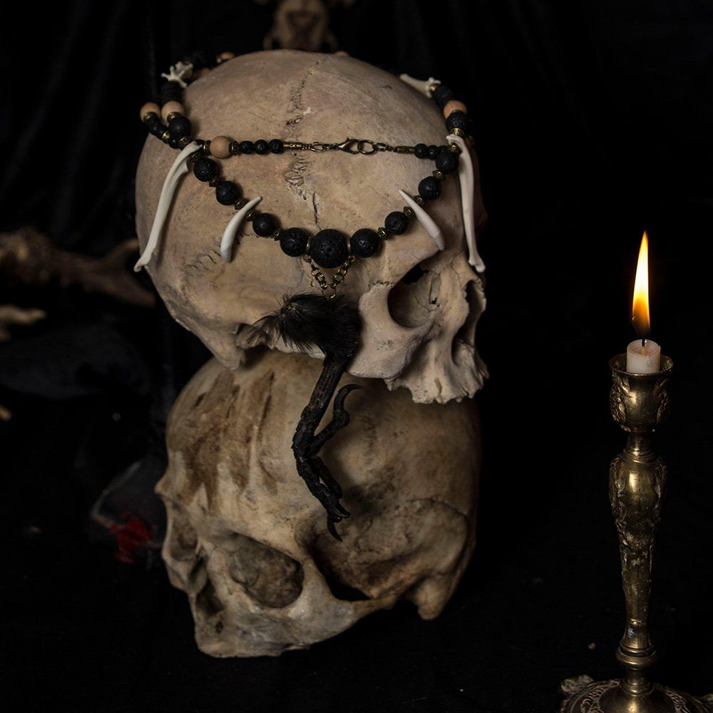 ⋮ Vis Tenebris ⋮ Necklace  #darkart #jewelry