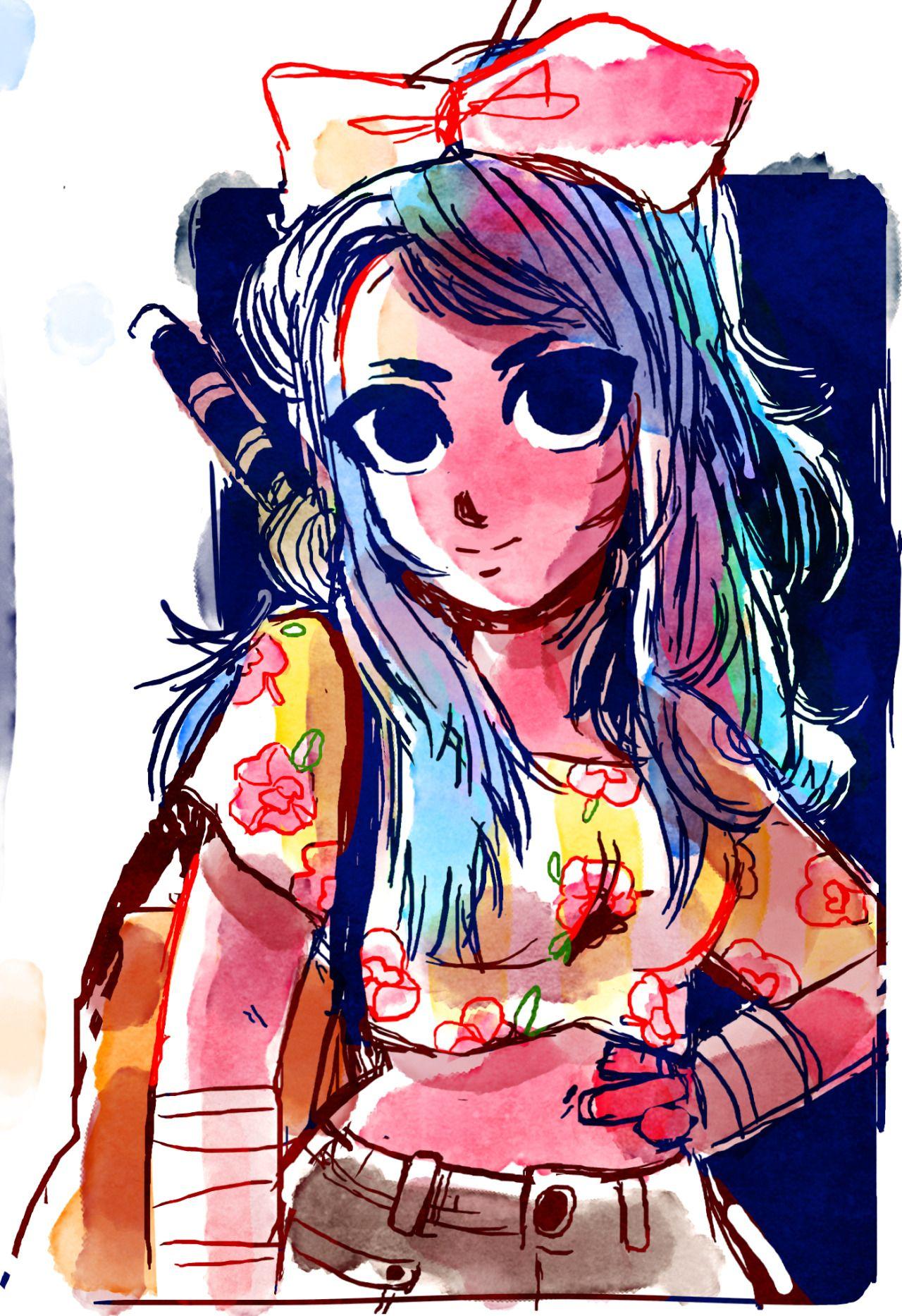 Character Design Magazine : Maysketchaday based off some japanese fashion magazine
