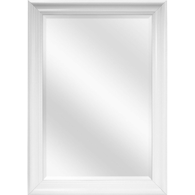 Large Rectangular Bathroom Wall Hanging Mirror With White Frame 42 X 30 Inch Bathroom Wall Decor Bathroom Wall