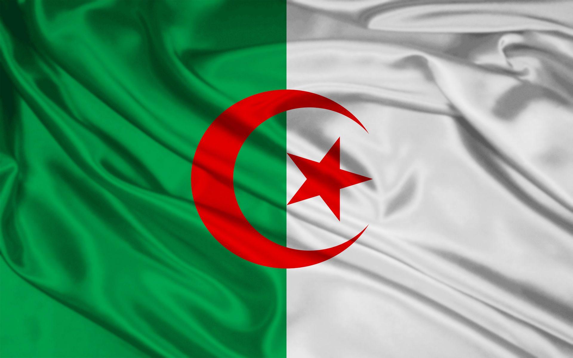 Algeria Flag Wallpapers Algeria Flag Flags Of The World Flag Background