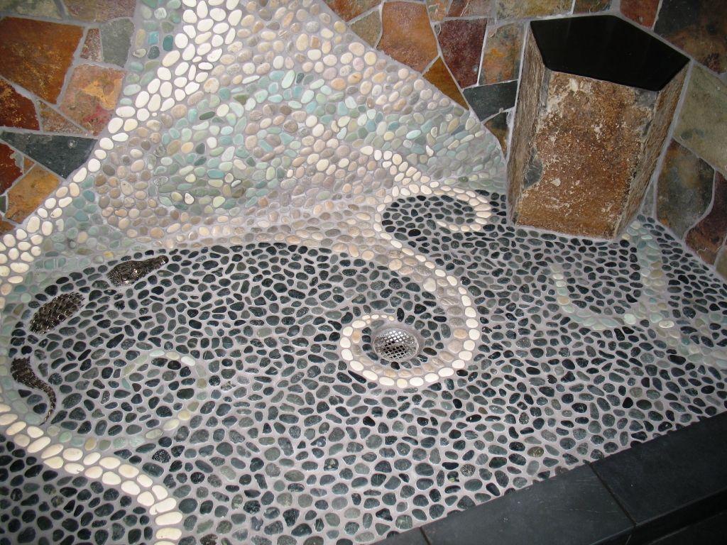 Pebble Tile Mosaics