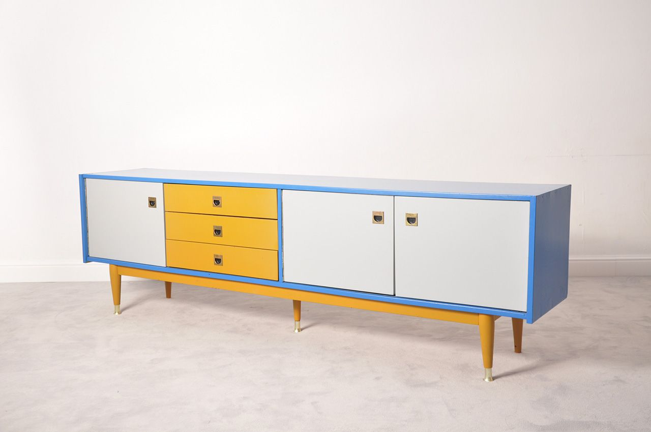 up cycled mid century modern sideboard | Retros