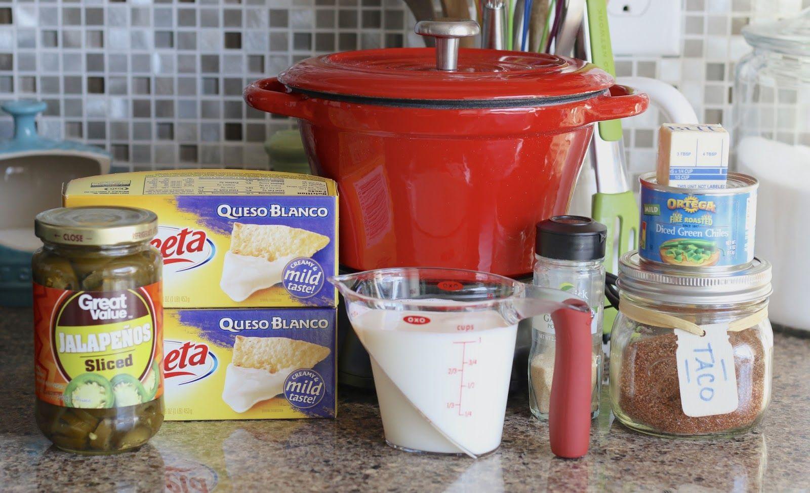 Crock pot white queso dip recipe white queso dip