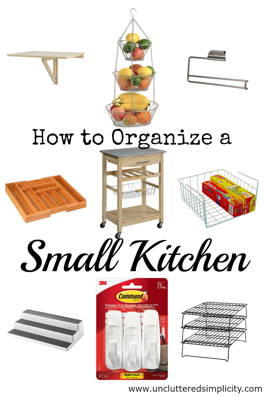 Small Kitchen Organization Ideas: How To Instantly Create More Storage In A Tiny Kitchen