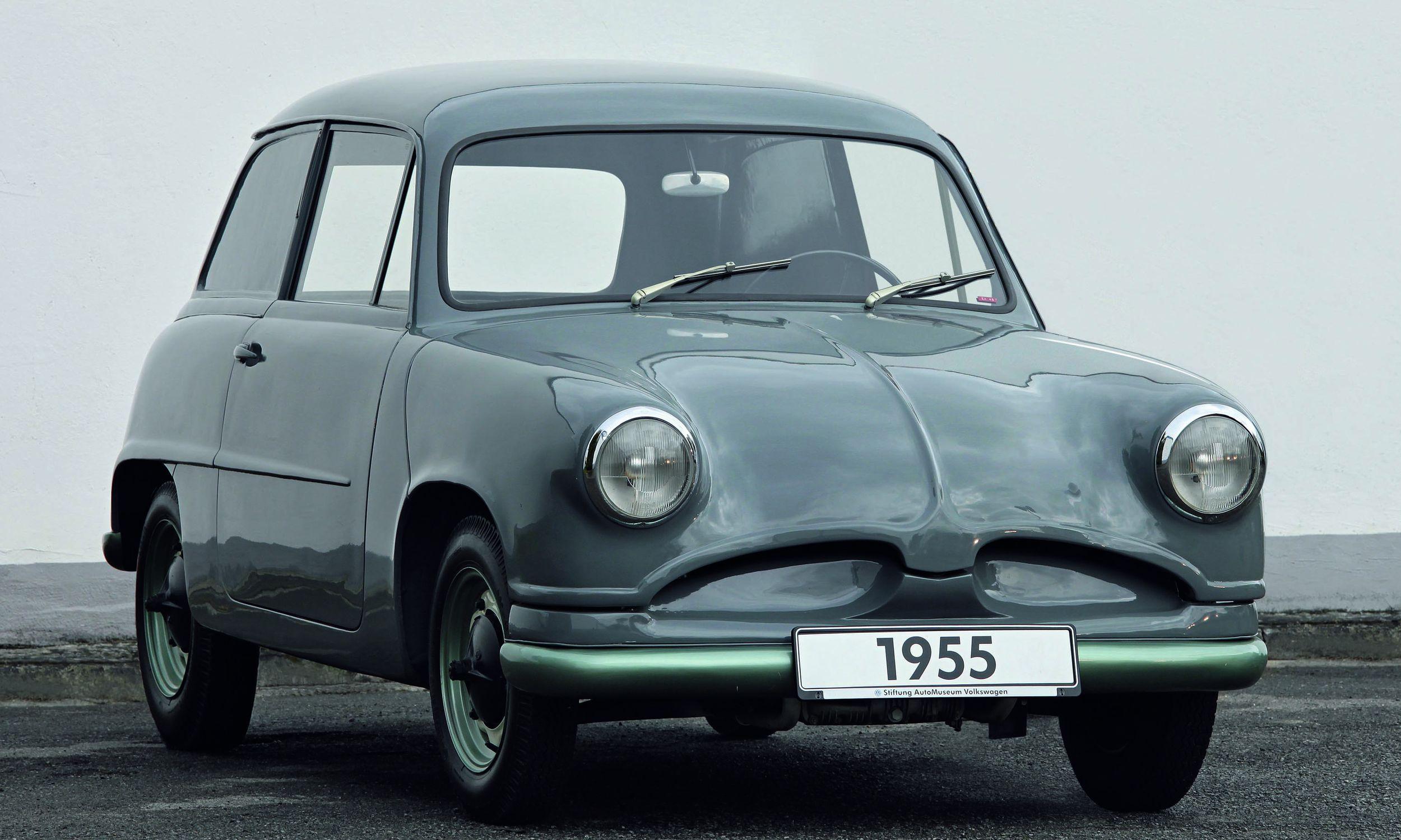What if Volkswagen built the first Mini? VW\'s EA-48   Volkswagen, Ea ...