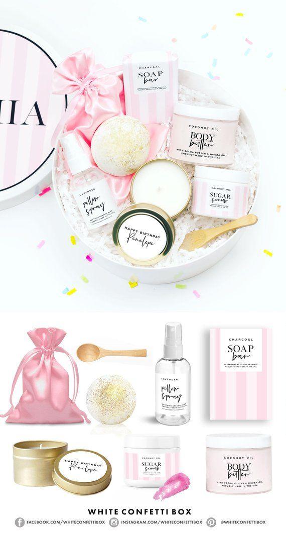 Birthday Gift Spa Box