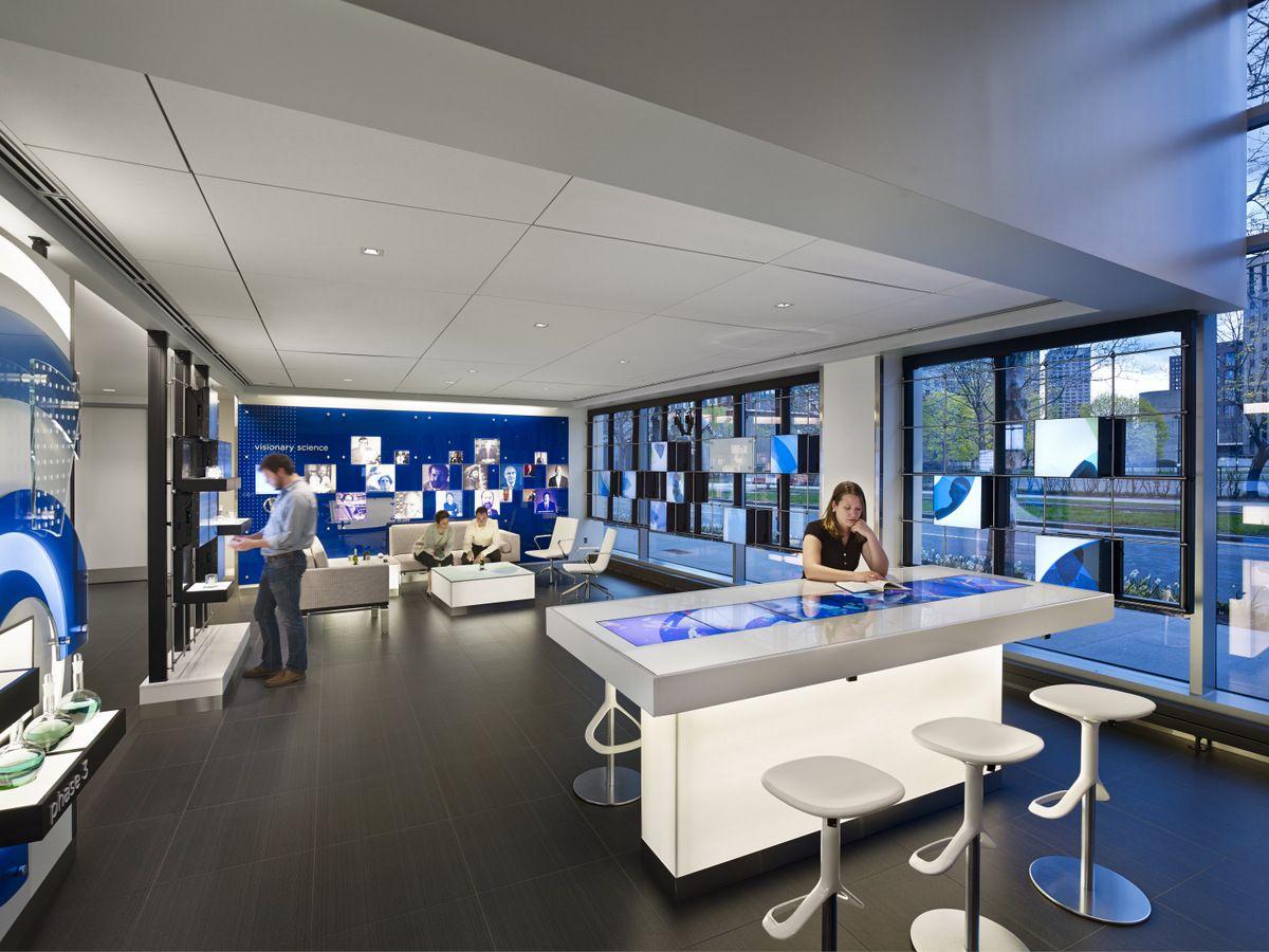 Biogen Idec Cambridge Campus Expansion Office Interior Design