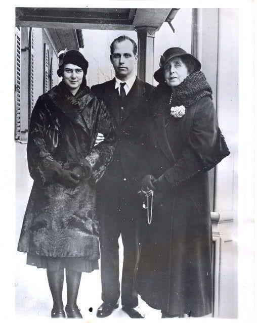 Marie with Ileana and Anton