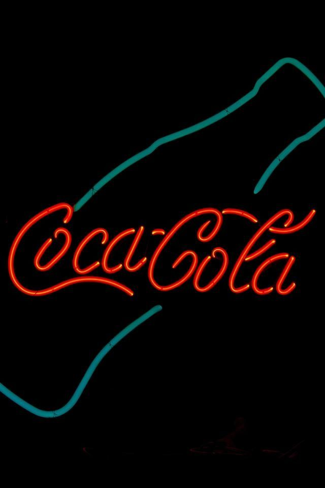 vintage coca cola neon sign coke it 39 s the real thing. Black Bedroom Furniture Sets. Home Design Ideas