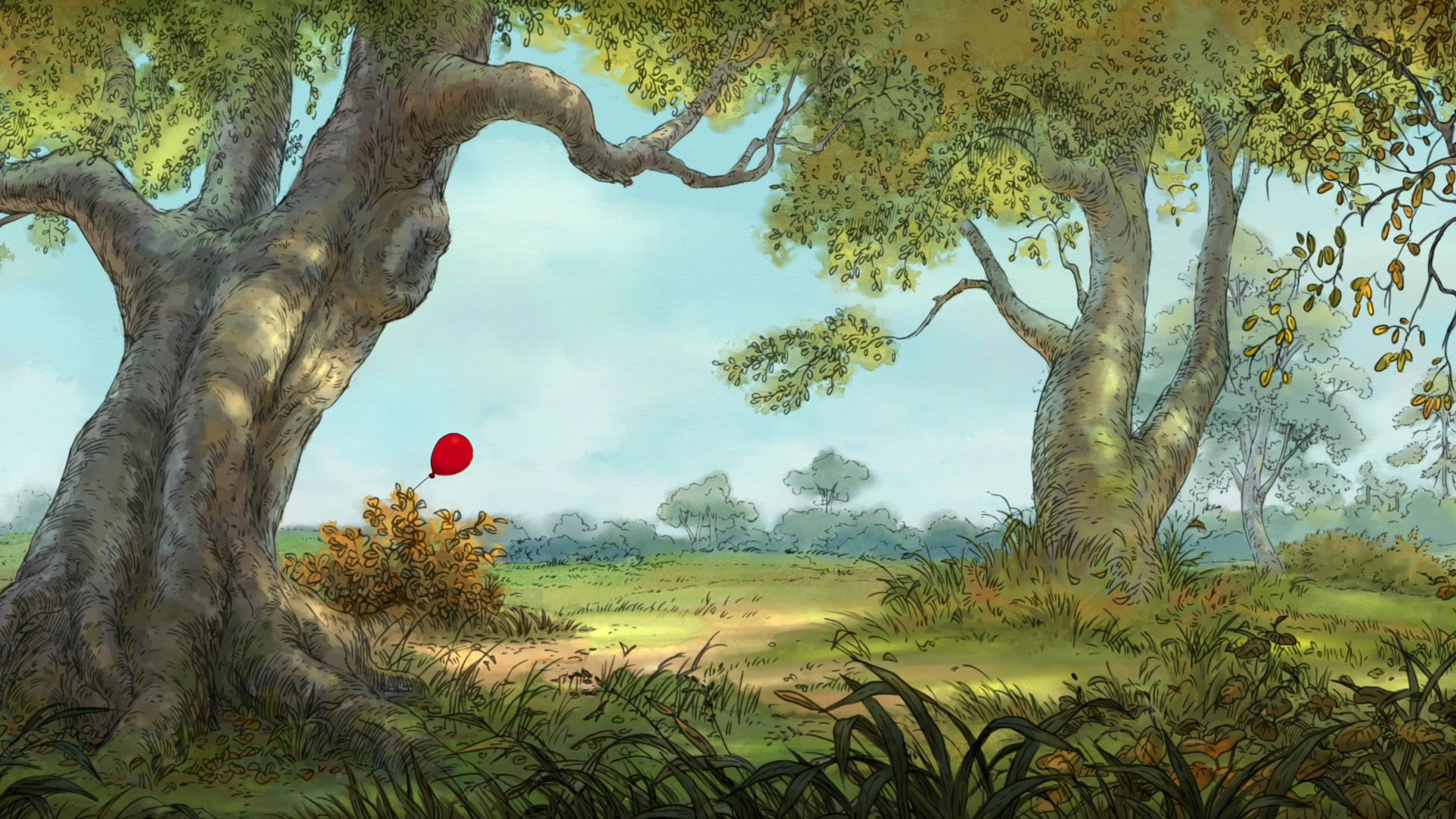 Winnie The Pooh Animation Backgrounds Google Search