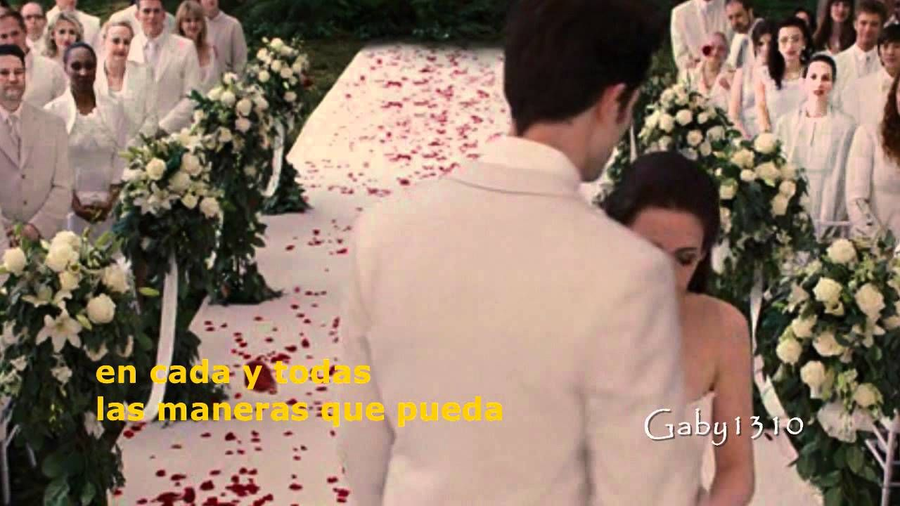 Edward y Bella - Now and Forever (subtitulado)