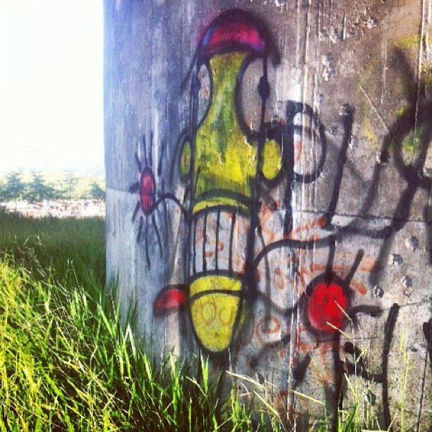 Criaturas Urbanas no muro