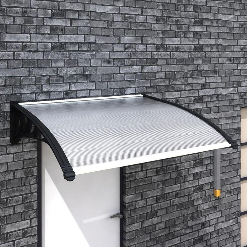 Window Door Rain Protection Canopy Entryway 47 X 39 Awning Shade Shelter Snow Door Canopy Brick Exterior House Awning Shade