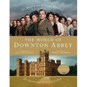 Jessica Fellowes, Julian's neice had behind the scenes access to the Downton set and actors and has created this lovely coffee table book.