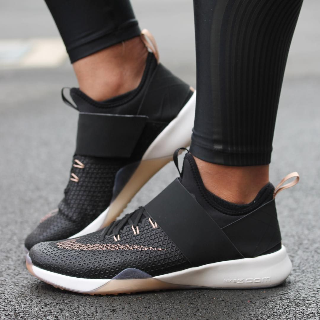 29e6e3eeafae The Women s Nike Air Zoom Strong is the latest women s training shoe that  wraps the foot with a one-piece .