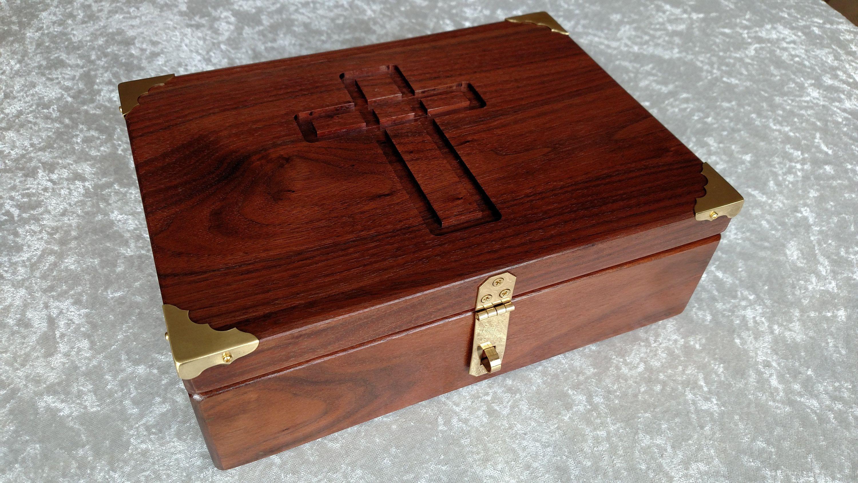 Bible Box Wood Anniversary Box New Baby Keepsake Box Memory Etsy In 2020 Baby Keepsake Box Diy Wooden Jewelry Box Baby Keepsake Box Diy