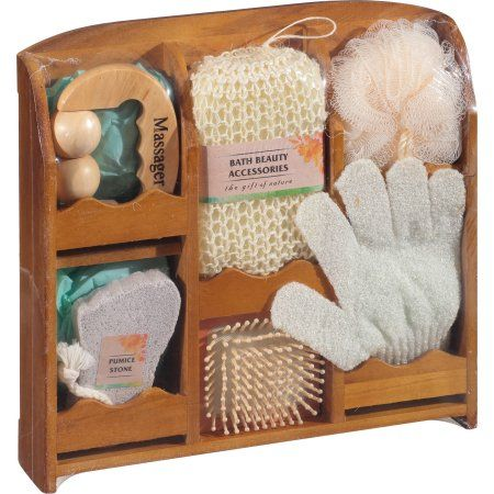 Essential Design Bath Beauty Accessories Gift Set 7 Pc Products