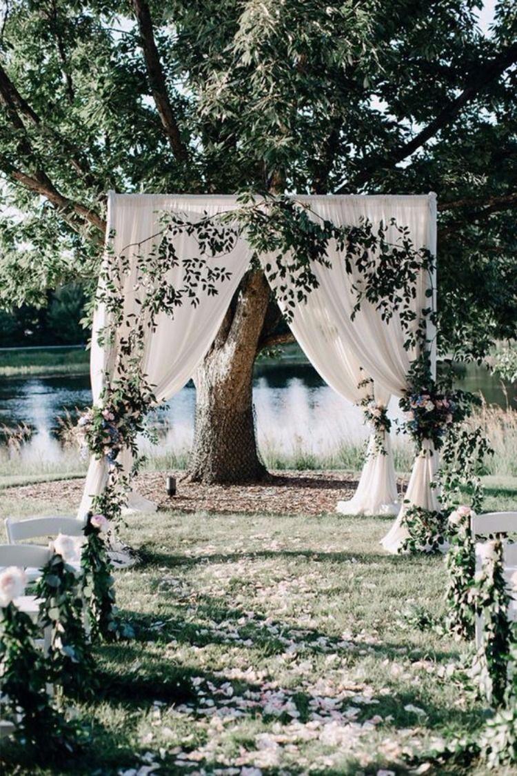 Top 35 Outdoor Backyard Garden Wedding Ideas Wedding Themes Outdoor Garden Wedding Ceremony Decorations Garden Wedding Decorations Backyard garden wedding reception