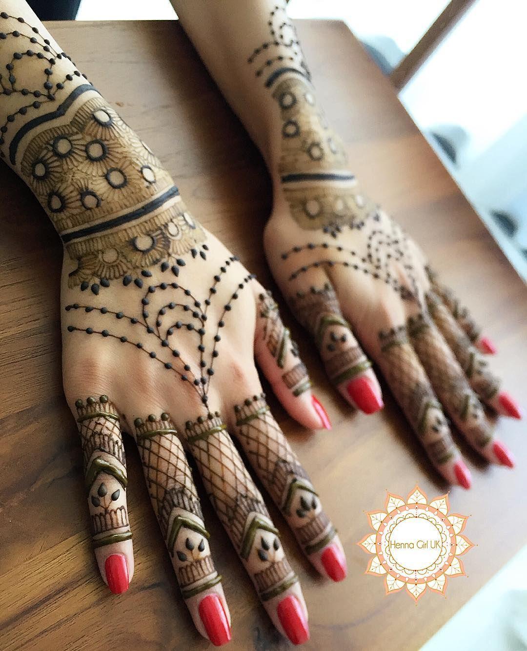 hennagirluk 💕 Henna designs easy, Mehndi designs, Henna