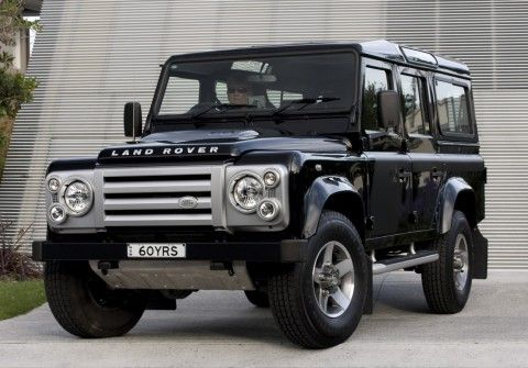 Land Rover SVX 110  Buy a new Defender and it will most