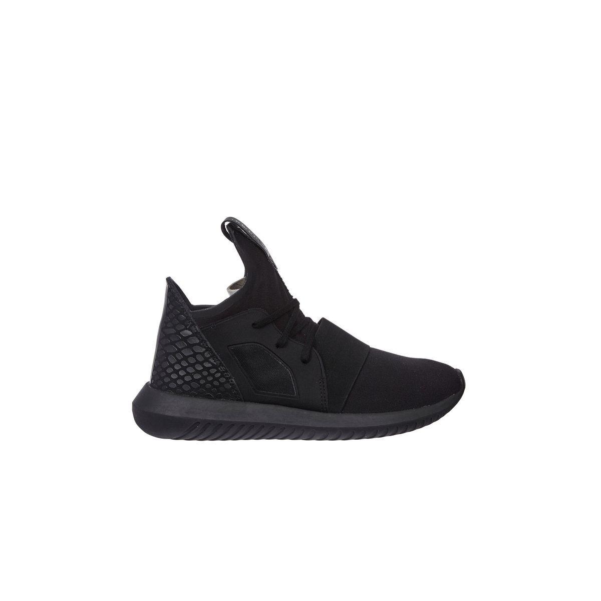 basket adidas tubular femme noir