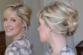 chignon flou cheveux court Recherche Google Hair