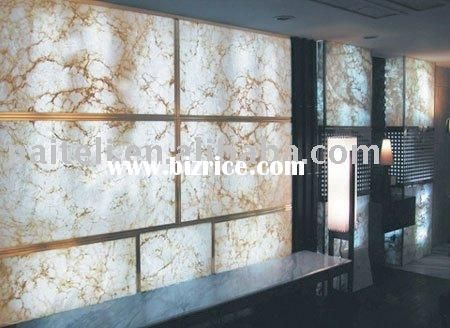 Decorative Backlit Polyester Resin Wall Panel
