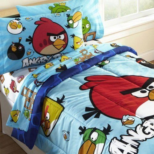 Angry Bird Twin Comforter Sets, Angry Birds Star Wars Full Size Bedding