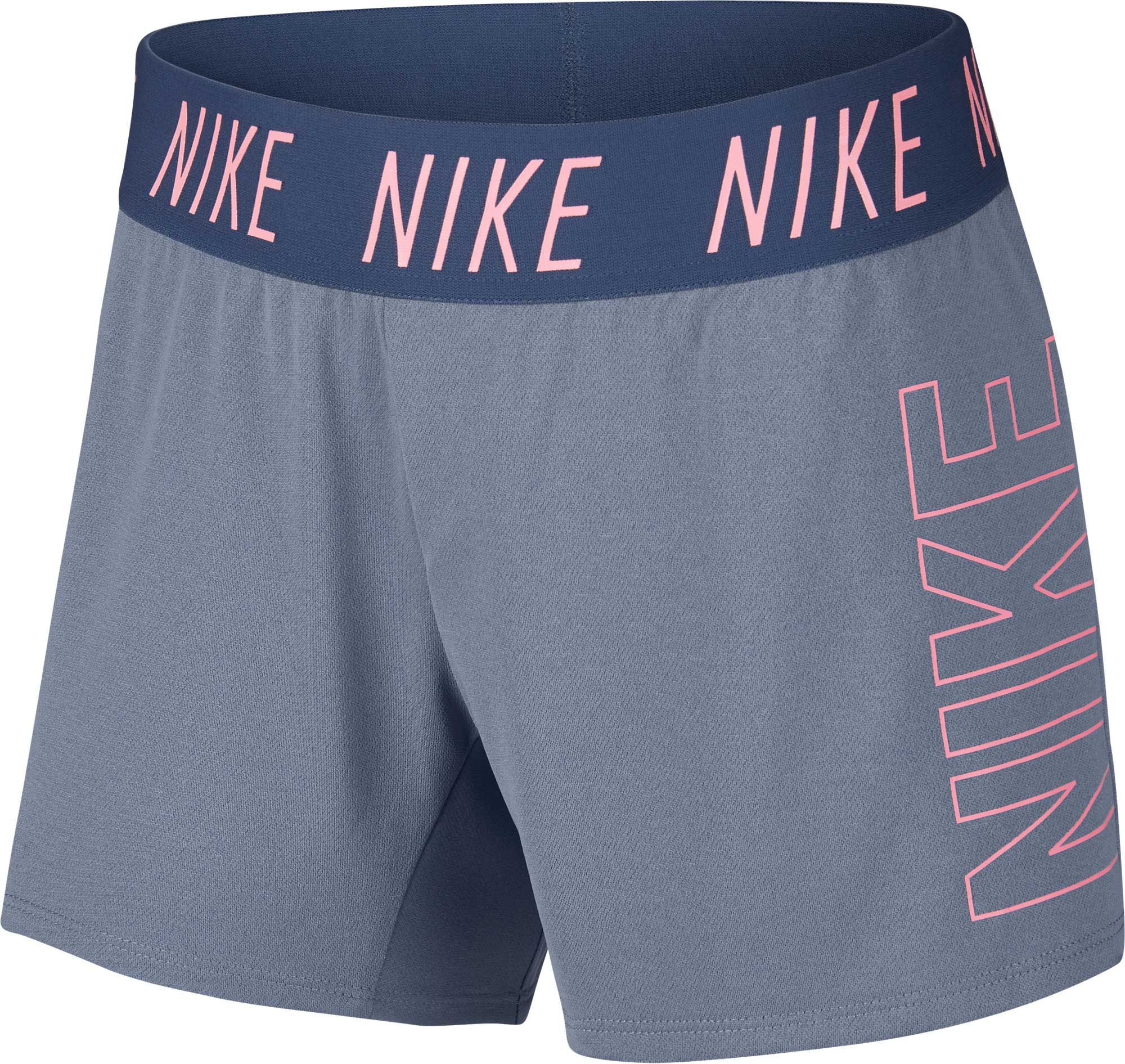 e6823f76 Nike Girls' Dry Trophy Graphic Shorts, Size: XS, Blue in 2019 ...