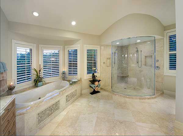 House Bathrooms plan 31809dn: ocean dream house plan   bath, dream house plans and