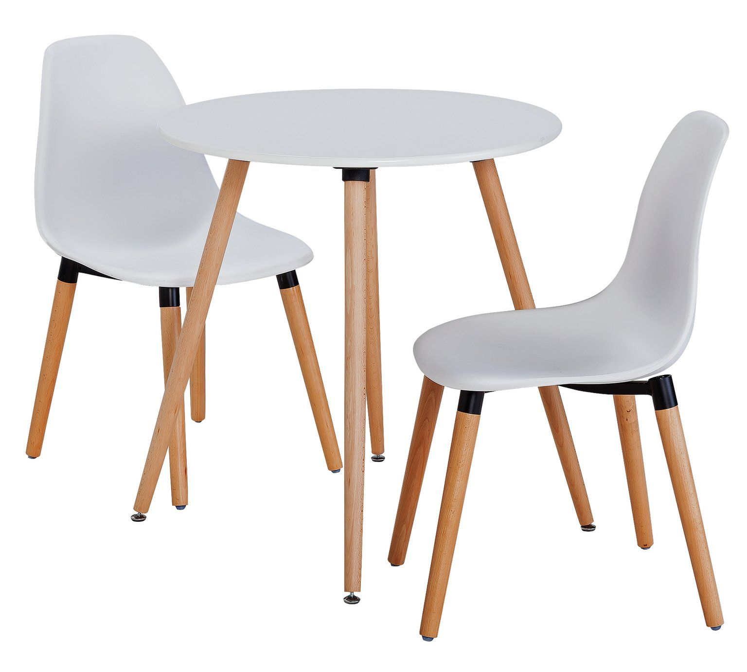Argos Round Garden Table And Chairs: Buy HOME Berlin Round Dining Table & 2 Chairs