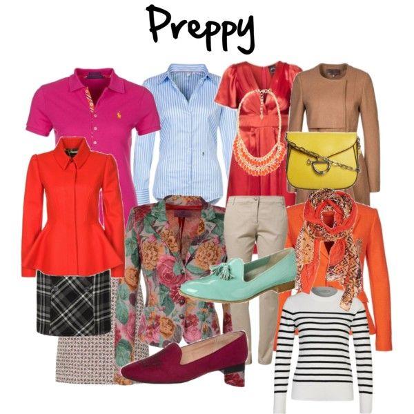 Kledingstijl: Preppy / informeel klassiek by justbeautiful ...  Preppy