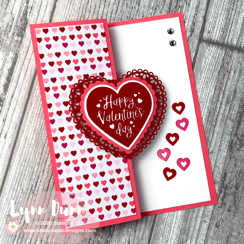 4 Simple Fun Fold Cards To Make For Valentine S Day Lynn Dunn Valentines Day Cards Handmade Valentine Cards Handmade Valentine Cards To Make