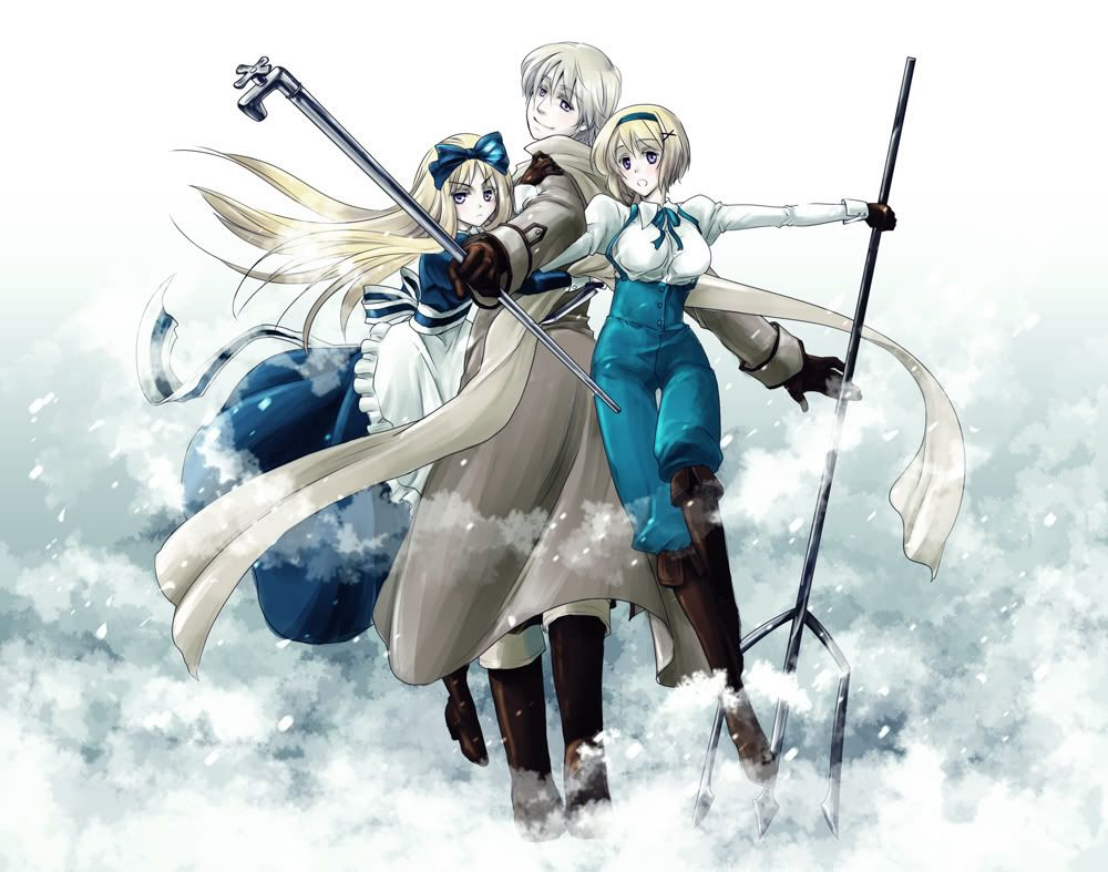 hetalia russia belarus and ukraine - Bing Images