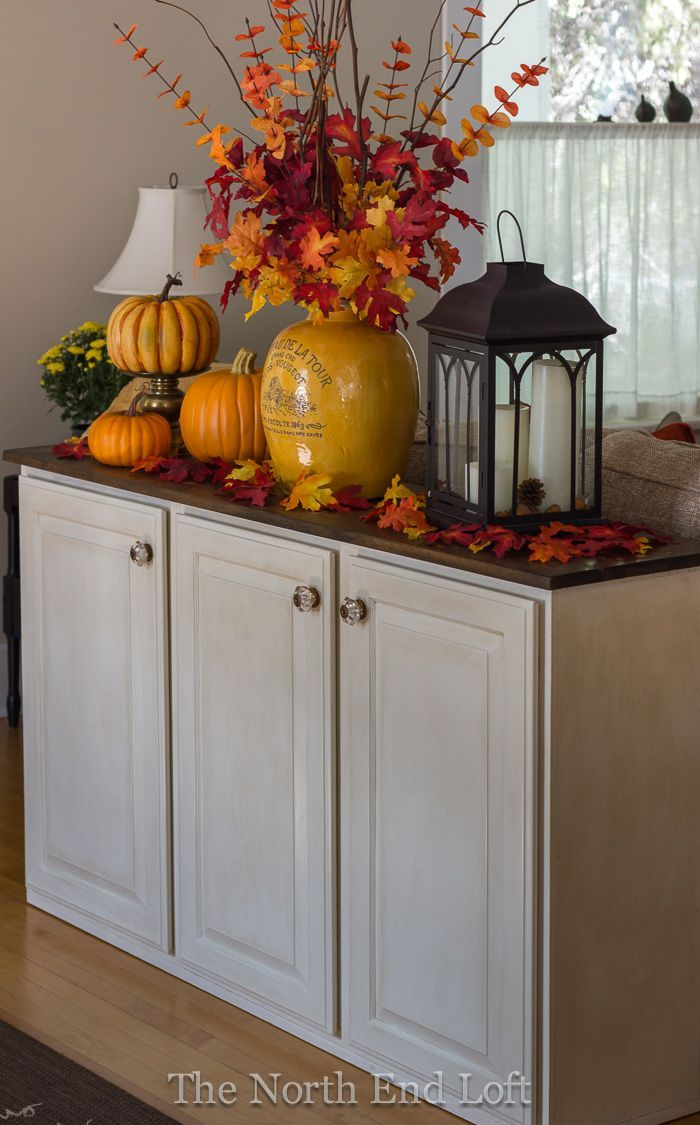 Autumn Living Room Decorating: The North End Loft: Living Room Updates And Fall Decor