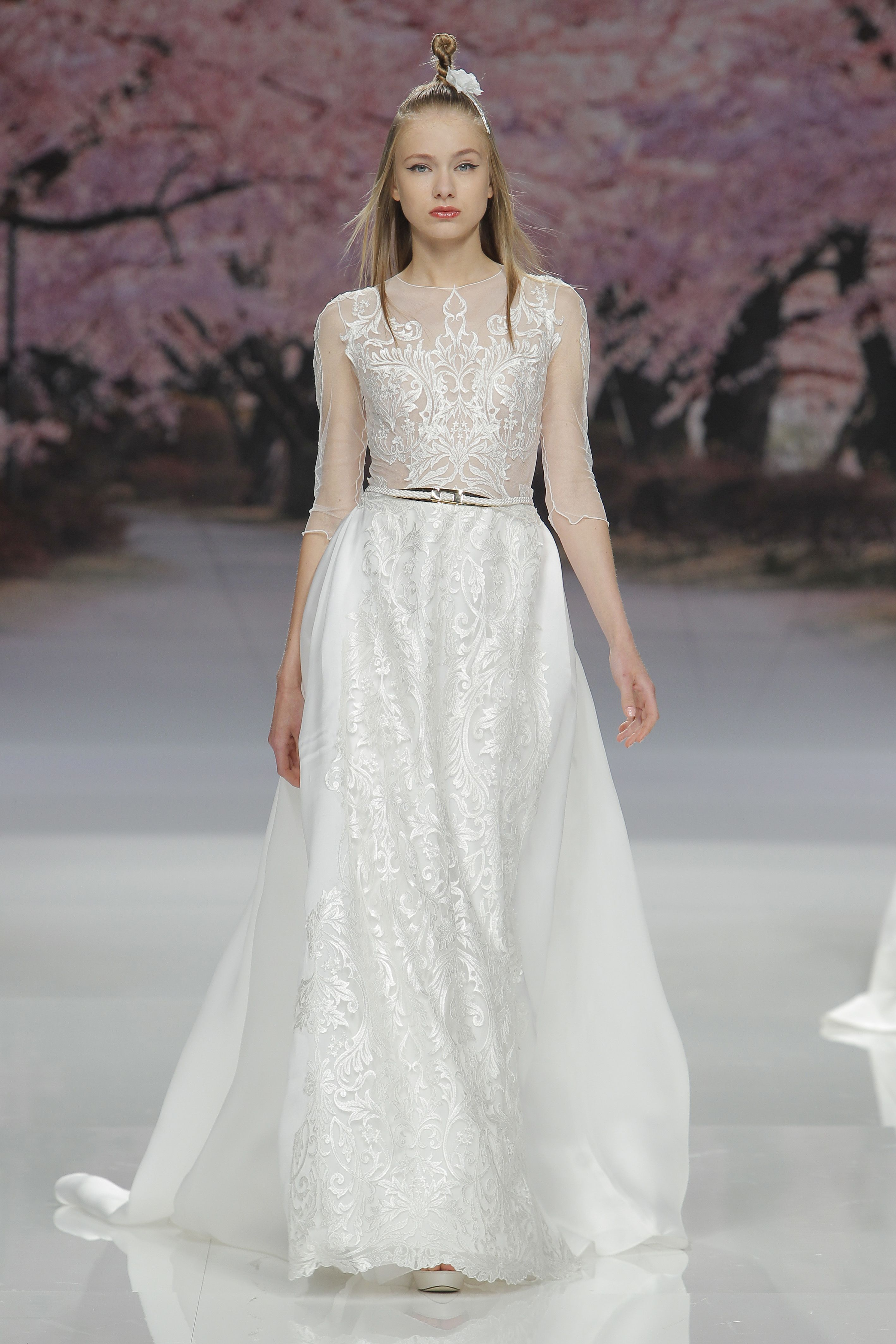 Inmaculada Garcia Barcelona Bridal Fashion Week 2017
