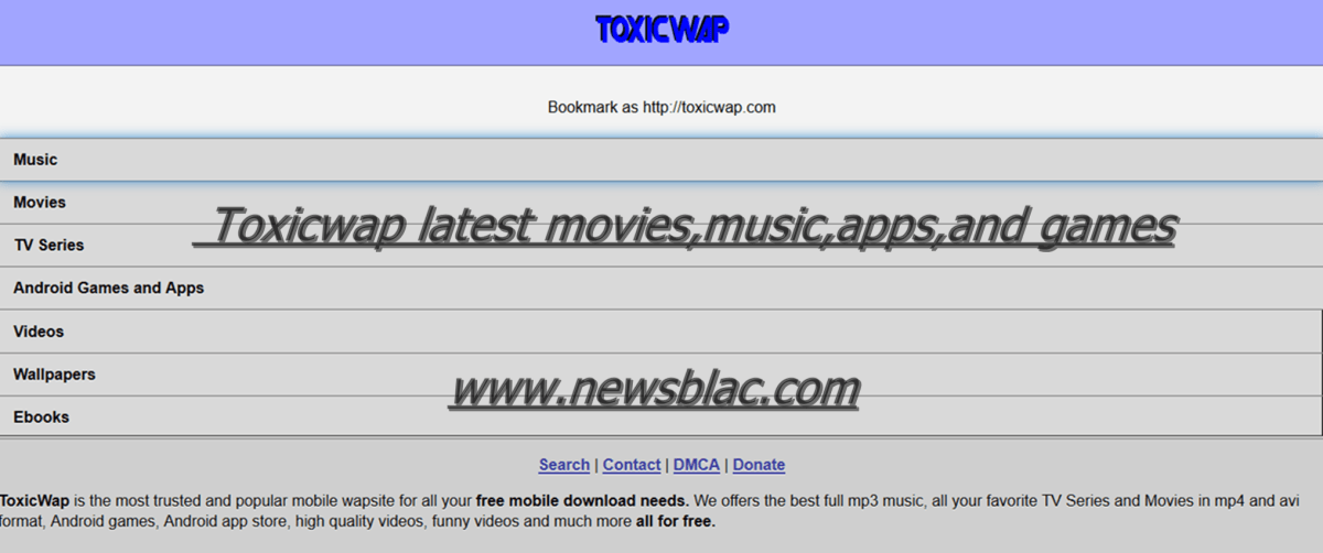 Toxicwap Free Movies Download