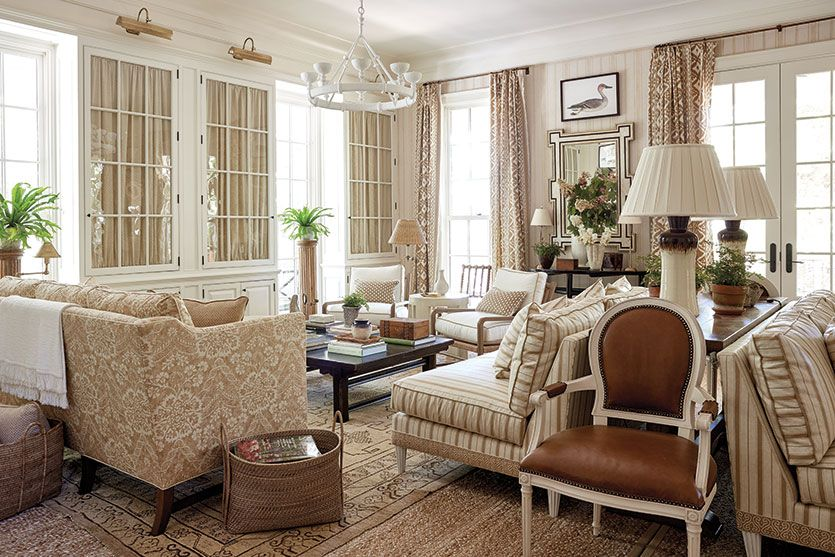 Mark Sikes' Living Room At The Southern Living Idea House Living Inspiration Southern Living Rooms