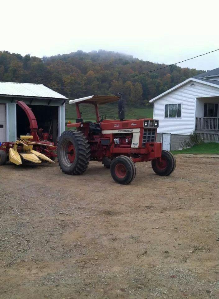 Ih 1066 Hydro Tractors Vintage Tractors Farm Equipment