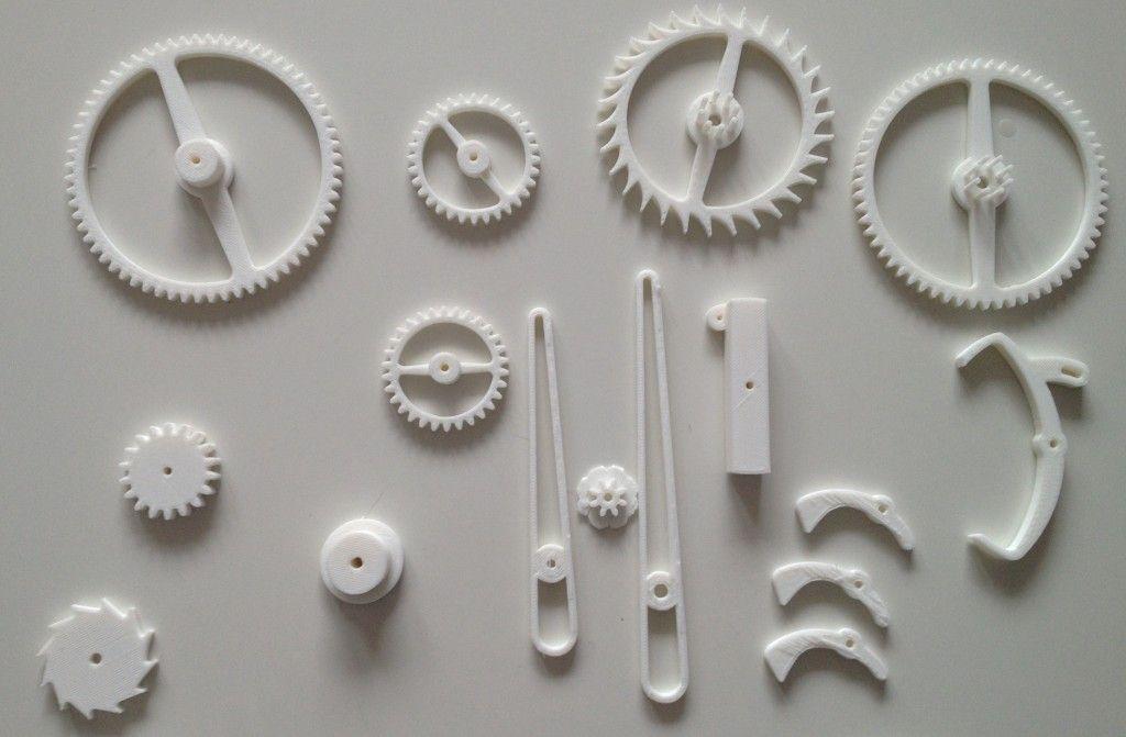 University College Londonu0027s 3D Printed Clock.