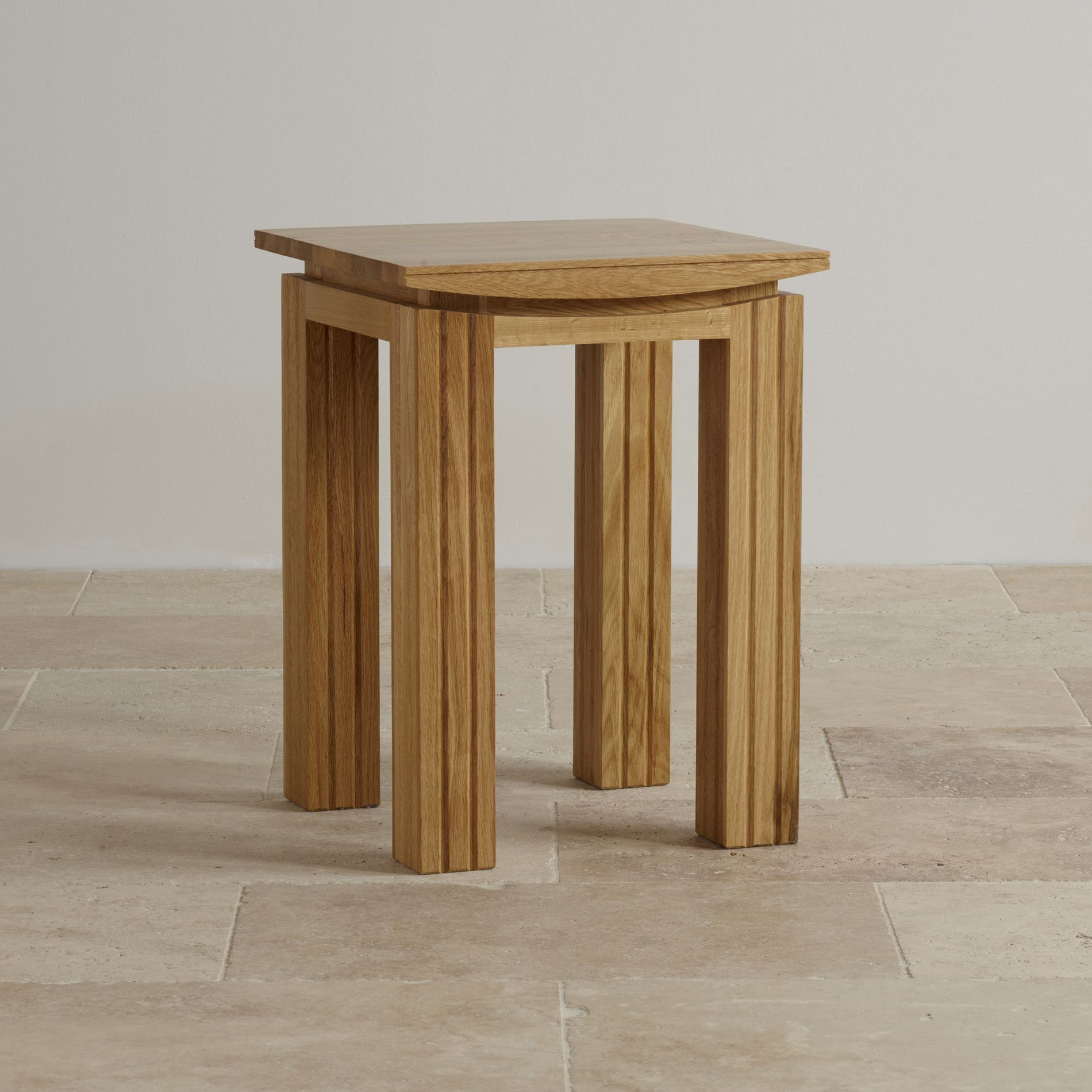 Natural Solid Oak Side Tables Side Table Tokyo Range Oak Furnitureland Solid Oak Oak Furniture Land Table