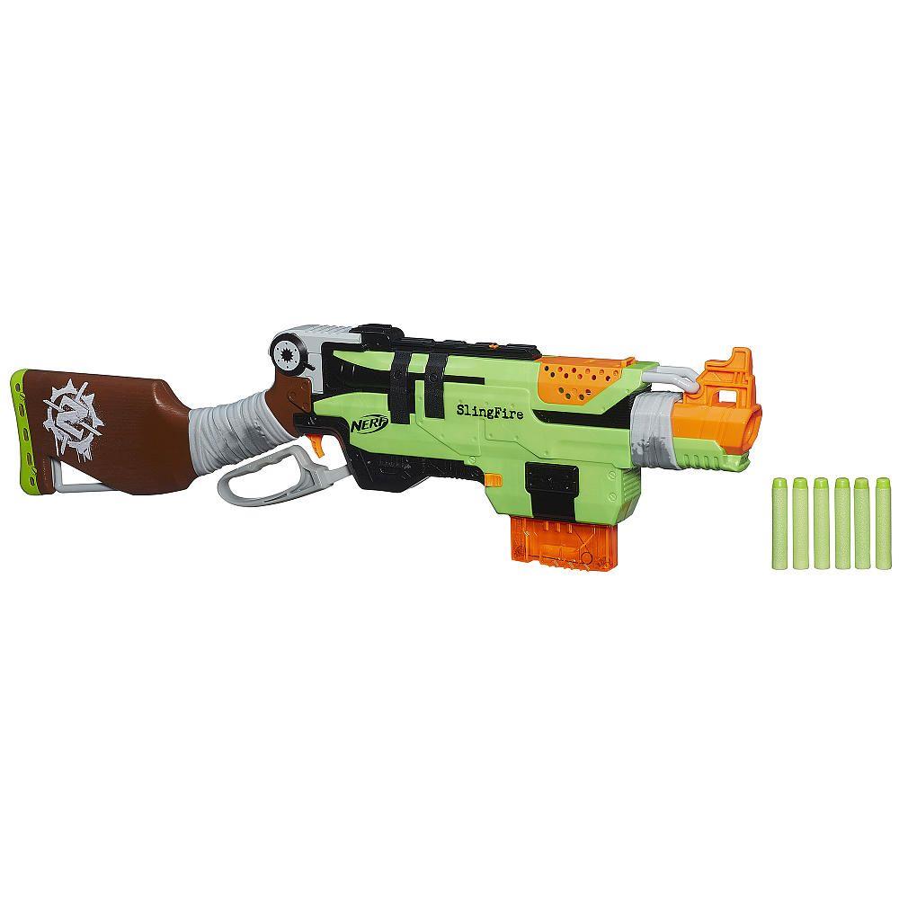 Zombie Toys R Us : Nerf zombie strike slingfire blaster toysrus