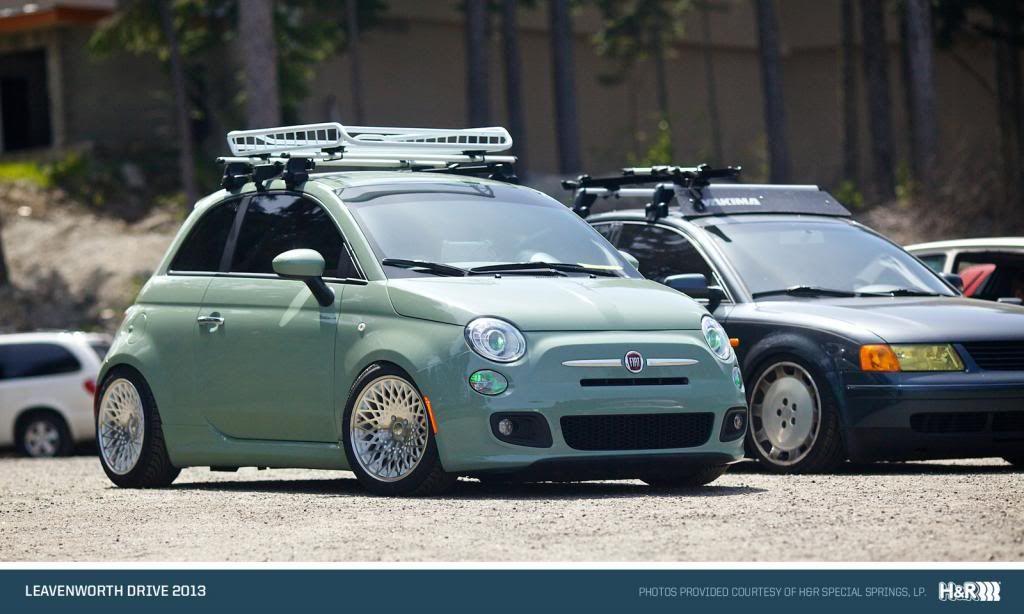 500 Green · Fiat