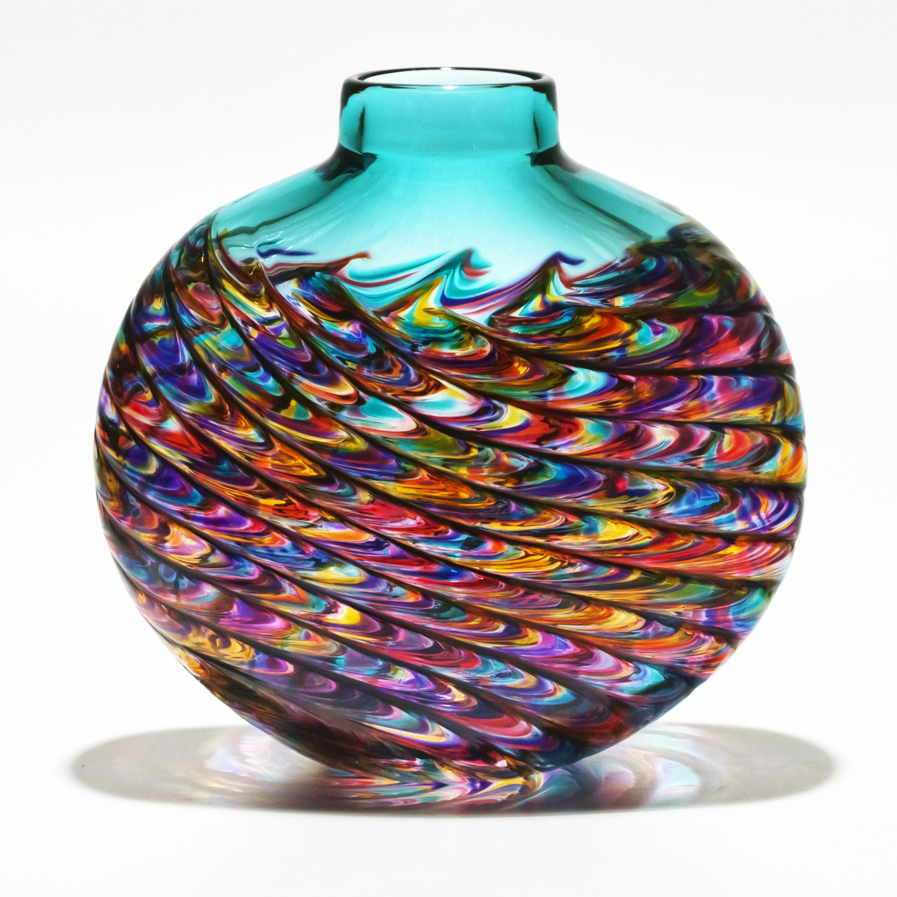 art glass vases of staggering beauty and exceptional elegance description from bohaglassco - Decorative Glass Vases