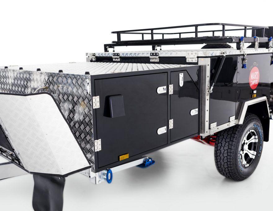 Forward Folding Off Road Camper Trailer Storage Box For Fridge Off Road Camper Trailer Off Road Camper Camper Trailers